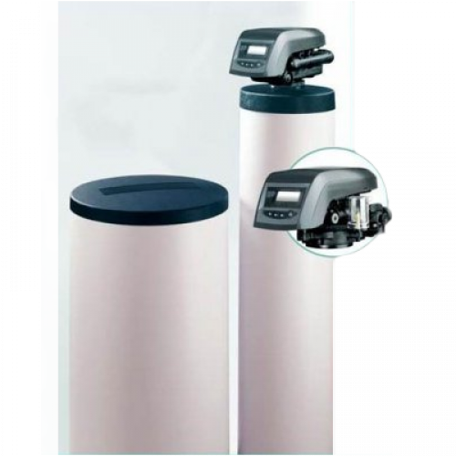 -Central domestic water softener